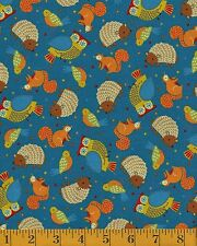 Camp Cozy lite denim  Quilting Treasures 100% cotton Fabric by the yard