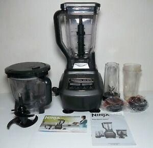 Ninja Mega Kitchen System Blender Food Processor BL770 Professional 1500W