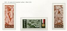 37507) Malta 1977 MNH Workers 3v