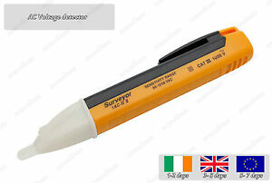 Non Contact AC 90- 1000VAC Cat3 LED Electric Voltage Detector Sensor Pen Tester