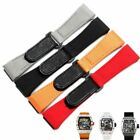 Watch Strap Band Fit for Richard Mille RM011 RM3502 RM056 27mm Canvas Nylon