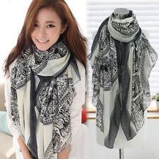 Fashion Women Soft Long Neck Large Scarf Wrap Shawl Pashmina Stole Scarves 1PC