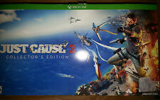 XBOX ONE Just Cause 3 ~ Collector's Edition 2015 in Original Box