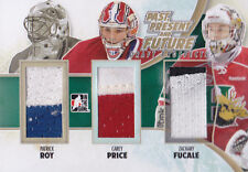12-13 Draft Prospects Patrick Roy Carey Price Fucale /12 Jersey GOLD 2013 ITG