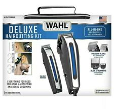 NEW Wahl Deluxe Haircut Kit with Trimmer and Storage Case