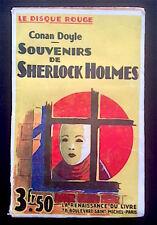 CONAN DOYLE - Souvenirs de Sherlock Holmes - La Renaissance du Livre, cop.1918