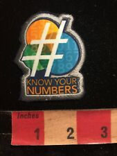 Phone Numbers KNOW YOUR #'S Patch 87V6