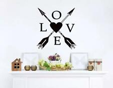 Love Wall Decal – Vinyl Wall Sticker – Removable Wall Art for Home decor