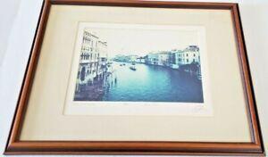 Venice Italy Photo Dennis Craig Rosen Ltd. Edition 185/350 Artist Signed Matted