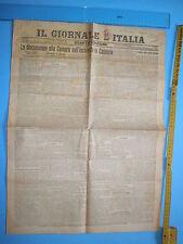 17/12/1907 IL GIORNALE La discussione alla Camera sull'inchiesta in Calabria 276