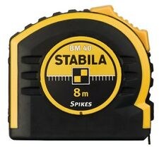STABILA 17745 Carded Bm 40 Double-Sided Scale 8m Measuring Tape