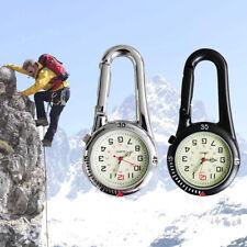Gürtel / Rucksack Clip On Karabiner Taschenuhr Krankenschwestern Fluoreszenz Uhr