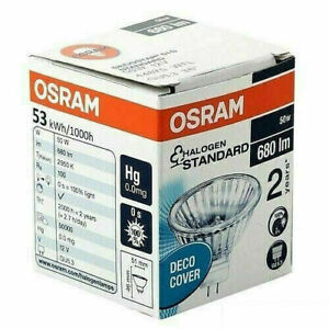 Osram MR16 Decostar 51 Halogen Spotlight Bulbs 12V GU5.3 50W