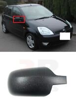 FOR FORD FIESTA 02-05,  FUSION 02-05 NEW WING MIRROR COVER CAP BLACK RIGHT O/S