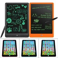 New Kids Children LCD E-Writing Drawing Board Tablet Educational Learning Toy US