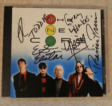 AUTOGRAPHED - 'It's Alive! - The New Cars [Rare Advance CD] + COA + PHOTO PROOF