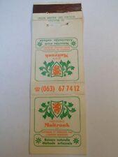 Pochette allumette - VERITABLE MAITRANK  - Belgium - (5)
