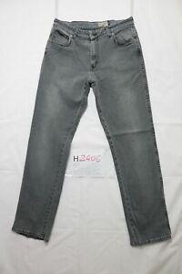 Levi's texas stretch usato (Cod.H2406) W34 L34 denim jeans nero dritto