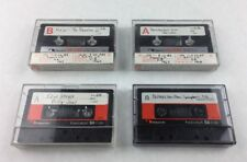 Lot of 4 Nakamichi Ferricobalt High Bias SX-C90 Cassette Tape Used Made in Japan