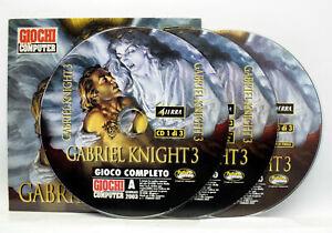 GABRIEL KNIGHTS 3 EDIZIONE ITALIANA GIOCO PC CD ROM EDITORIALE VBC 74797