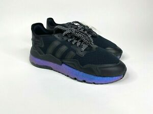 Adidas Nite Jogger Men's Adidas Shoes FV3615 Size 9 Metallic 3M Reflective