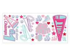 Borders Unlimited Cheer Cheerleading Wall Sticker Decals Girls Room Decor