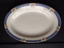 Antique K.T.& K Ivory Knowles Taylor Porcelain Rose Platter 14,5 x 10,5