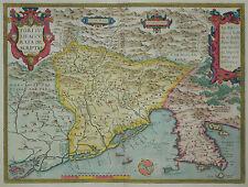 Fori Iulii Accurata Descriptio - Ortelius 1579 -Venetien, Friaul -Italien -Italy