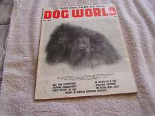 Dog World Magazine July  1967