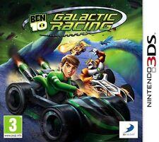 Ben 10 Galactic Racing  Nintendo 3DS   NUOVO!