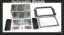 = Doppel DIN für Cadillac BLS ab 2006 Autoradio Blende