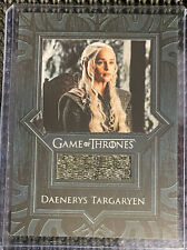 Game of Thrones Inflexions Rittenhouse - Daenerys Targaryen Relic VR11