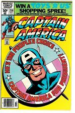 CAPTAIN AMERICA #250 NM Cap as President! John Byrne Art! 1980 Newsstand Edition