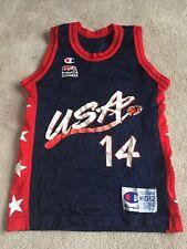 USA Basketball: G.ROBINSON #14: CHAMPION BRAND MEDIUM 10-12