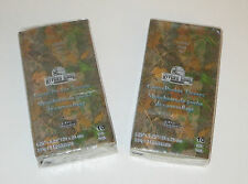 Camo Pocket Tissues 2 Packages of 10 Camouflage Travel Pack New Green