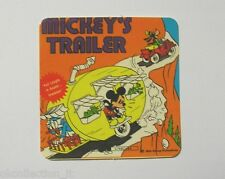 VECCHIO ADESIVO / Old Sticker DISNEY MICKEY MOUSE MICKEY'S TRAILER (cm 8x8)