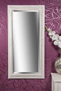 Spiegel Wandspiegel weiß  Barock SAMANTHA 100 x 50 cm