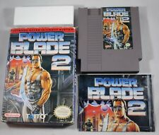Power Blade 2 (Nintendo Entertainment System NES) Complete in Box GOOD #B