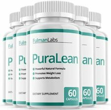 (5 Pack) Official PuraLean Pills, Advanced Formula, 5 Bottles, 5 Month Supply