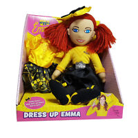THE WIGGLES - YellowEmma DRESS UP EMMA DOLL 40cm Soft Plush Doll Toy BN LICENSED