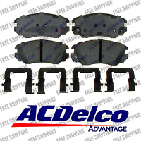Disc Brake Pad-Ceramic Front ACDelco Advantage 14D1421CH
