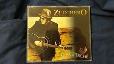 ZUCCHERO  - PAPA' PERCHÉ.  CD PROMO 1 TRACK