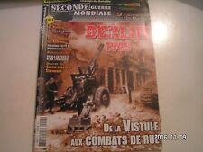 ** Champs de bataille seconde guerre mondiale n°20 Berlin 1945 / Fallschirmjäger