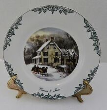 2000 Museum of City of New York Currier & Ives Collection Plate Thomas series