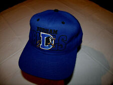 Durham Bulls MiLB All Dark Blue Hat Adult Snapback #1 Apparel EXC