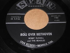 Bobby Russell: Roll Over Beethoven / Right Or Wrong 45 - SPAR - Rocker
