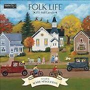 Folk Life 2021 Calendar, Paperback by Singleton, Mary (Art), Brand New, Free .