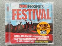 NME PRESENTS FESTIVAL VARIOUS ARTISTS CD ALBUM NEW AND SEALED
