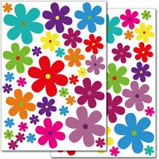 "Wandkings Wandsticker ""Blumen Design 3""  2x A4 Set Aufkleber Deko Wand"