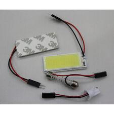 2pc 12V Car White 36 COB LED Xenon HID Dome Map Light Bulb Interior Panel Lamp